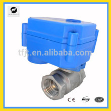 DC5V mini electric 2way angle control valves for Irrigation equipment,drinking water equipment,solar water heaters
