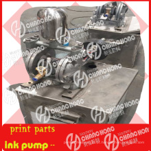 Bomba de tintas para peças de máquinas para máquinas de impressão