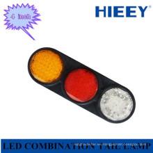 Lámpara LED de parada / cola / indicador / reverso combinado para camiones y grandes remolques