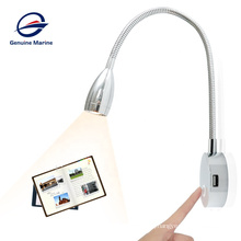 Genuine marine 12volt dimmer usb touch switch led reading lights for marine boat yacht