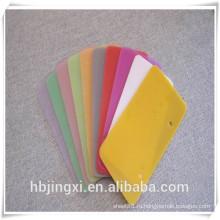 Поставка пользовательских прозрачный тепла сопротивления Силиконовой / силиконовой резины лист