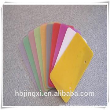 Fuente de calor transparente medida resistencia de silicona / hoja de goma del silicio