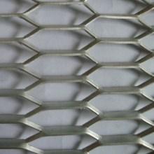 Paneles de malla de metal expandido resistente de aluminio decorativos