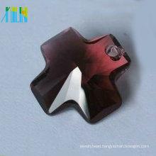 HOT! Cheap crystal fashion jewelry cross shaped pendant