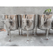 Stainless Steel Storage Tank with Movable Casters