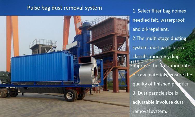 details mobile asphalt plant