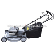 2015 best seller B&S 22inch Aluminum Deck Self propelled 2 in 1 lawn mower,cordless lawn mower