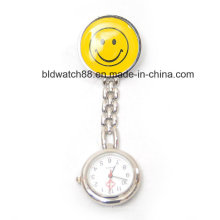 Japan Movement Smile Face Nursing Fob Watches