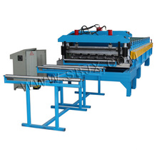 Aluminum Tile Roll Forming Machine