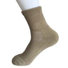 Halbe Kissen Sorbtek Coolmax Diabetische Gesundheitswesen Medical Khaki Quarter Socks (JMDB07)