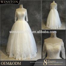 Alibaba оптовой высокое качество дешевые с плеча пакистанские свадебные платья