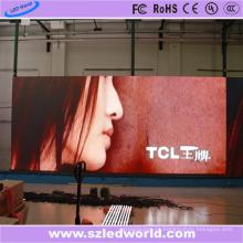 Panel de pantalla LED a todo color de alquiler interior P4.81 para publicidad