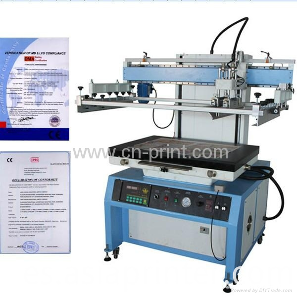 plane screen prinrting machine