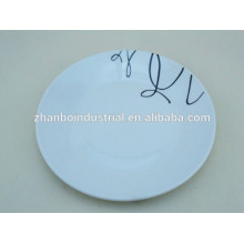 10 or 12 Inch porcelain dinner plate,wholesale dinner plates