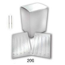 Agujas perforadoras de cuerpo esterilizado de acero inoxidable de alta calidad