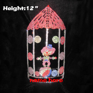12in Big Tall Custom Circus Clown Pageant Crowns