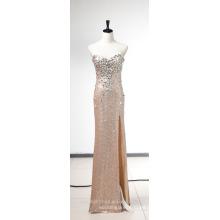 Elegante una línea de amor tobillo de longitud de tul vestido formal de noche B4