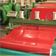 Heißer Verkauf rote Abriebfestigkeit Naturkautschuk Shee