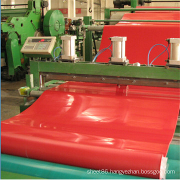 Hot Sale Red Abrasion Resistant Natural Rubber Shee