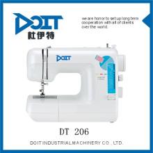 TAIZHOU DOIT máquina de costura industrial DT206 com gancho oscilante