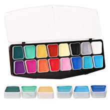 Premium Washable Halloween Make Up Face Painting Kit