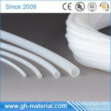 Tuyau en plastique flexible blanc de tuyau de téflon PTFE d'extrusion pour isoler