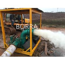 Desagüe de aguas residuales agua centrífugas Diesel bomba