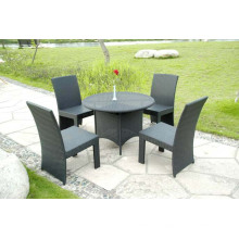 Garden Aluminum Folding KD Design Dining Chair Table Set