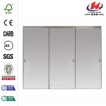 Solid Core PlyCor Interior Closet Sliding Door