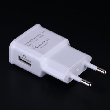 Adaptador de corriente USB 5W europeo