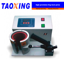 Neue Art Fabrik Direktverkauf TX-QX-A8-A halbautomatische Wärmeübertragung Becher Wärmepressmaschine für Glas und Keramikbecher