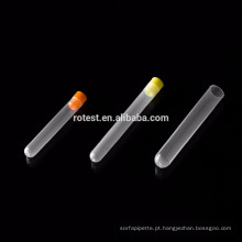 consumíveis de laboratório de alta qualidade PP plástico 15 * 100mm tubos de ensaio