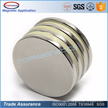 Super Round Disc Rare Earth Neodymium Magnet for Water Meter pump