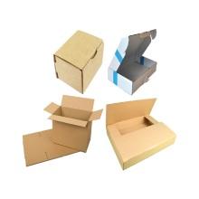 boîte en carton ondulée imprimée pour la promotion et l'emballage