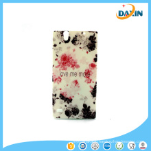 Colorful Painted Softcases for Sony Cell Phone