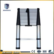 Single side aluminium easy folding telescopic ladder