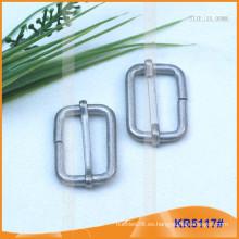 Tamaño interior 25mm Metal Hebillas para zapatos, bolsa o cinturón KR5117