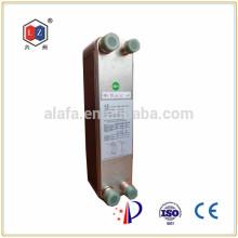SWEP паяных алюминиевых пластины плавника теплообменник ZL095Q