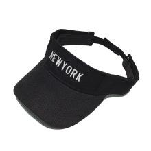Gorra de visera en blanco personalizada gorra de visera de protección solar