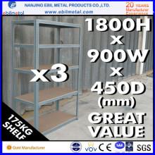 Facile assemblé avec étagère légère à chargement haute capacité