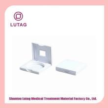 Embalagens de Blush caso de cosméticos quadrada brancos