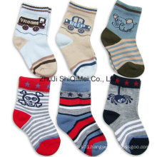 Hot Sale Wholesale OEM Service Children Kids Cotton Polyester Sock