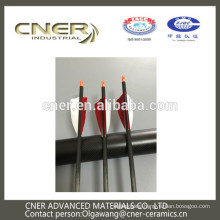 Brand CNER good quality and light weight carbon fiber arrow shaft for bow