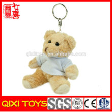 wholesale teddy bear keychain mini plush keychain toy custom