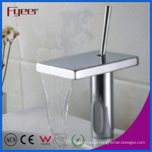 Fyeer Attractive Square Spout Bathroom Waterfall Basin Faucet