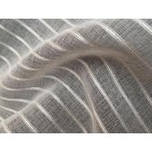 Organza Stripe Sheer Curtain Fabric Upholstery Fabric