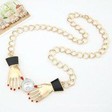 2013 Collier pendentif à la mode avec double mains Collier pendentif FN38