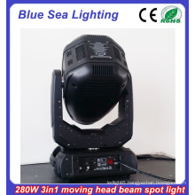 2015 New moving head light price 10R 280w 3in1 stage lighting