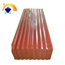 color steel roofing sheet/coated color metal corrugated plate