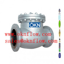 13  Carbon steel flange RF RTJ check valve /sales@oknflow.com